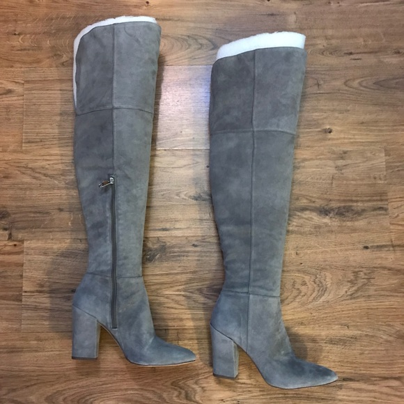 443baaec62f Louise et Cie Vernon Over The Knee Suede Boots
